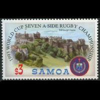 SAMOA 1993 - Scott# 826 Rugby $3 NH