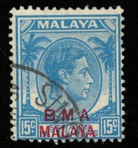 Malaya, 15c Singapore (RT-951)