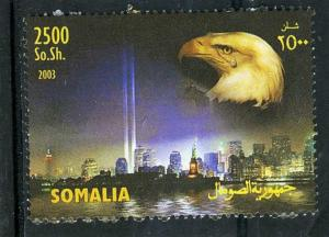 Somalia 2003 THE TWIN TOWERS Eagle set 1v Perforated Mint (NH)