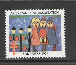 #WX1978 Arkansas Christmas Seal Z1297 MNH 10 Cent Lot