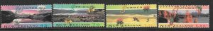 NEW ZEALAND SG1793/6 1994 THE FOUR SEASONS FINE USED