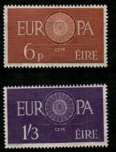 Ireland Scott 175-6 Mint hinged (Catalog Value $100.00)