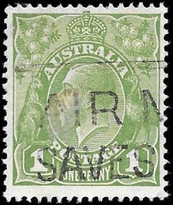 1931 AUSTRALIA SC # 114 USED NH ng  - SOUND -