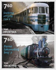 2018 Croatia Samobor Railway Engines Pr   (Scott 1088) MNH