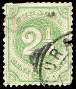 Netherlands Antilles Scott 15 Used.