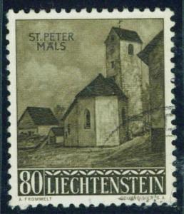 LIECHTENSTEIN Scott 331 used CTO stamp CV $2.50