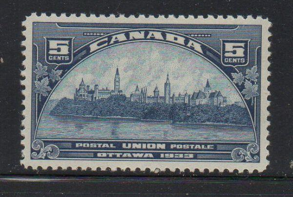 Canada Sc 202 1933 UPU Meeting stamp mint