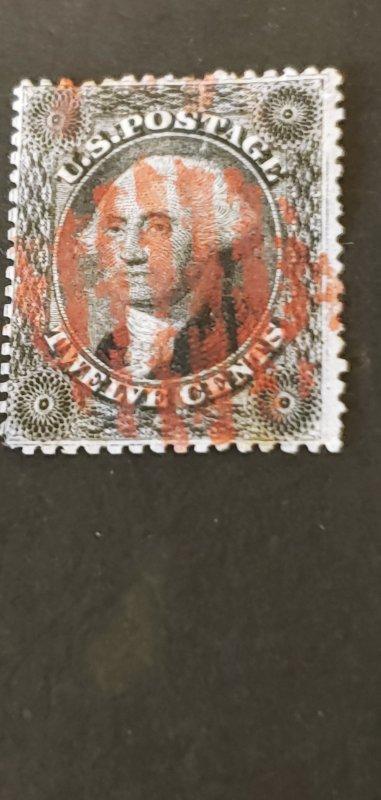 US #36b Used CV 290