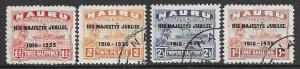 Nauru   31-34    1935  set  4   fvf used