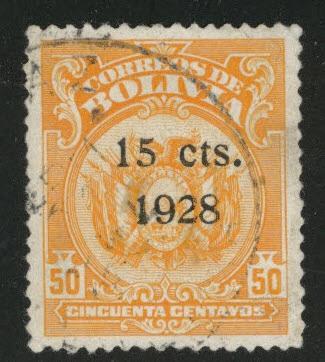 Bolivia Scott 186 Used