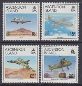 Ascension 544-547 Airplanes MNH VF