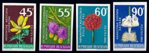 [67283] Senegal 1966 Flora Flowers Blumen Imperf. MNH