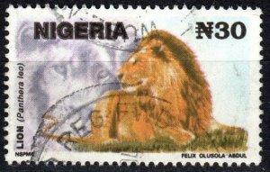 Nigeria #615E F-VF Used CV $6.00 (V6003)