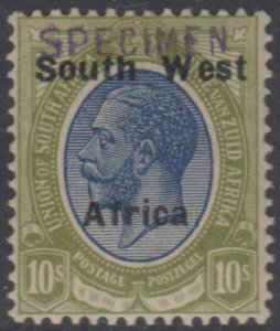 BC SOUTH WEST AFRICA 1923 Sc 39a SG# 39s KEY VALUE SPECIMEN MINT F,VF GBP 100