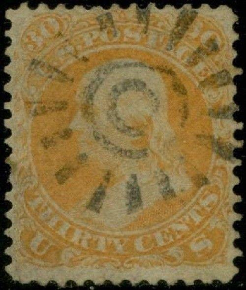 #71 VF+ USED WITH COGWHEEL CANCEL CV $180.00 BP8989