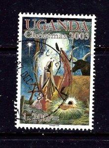 Uganda 1835 Used 2003 Christmas