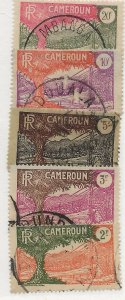 Cameroun 207-211 Used