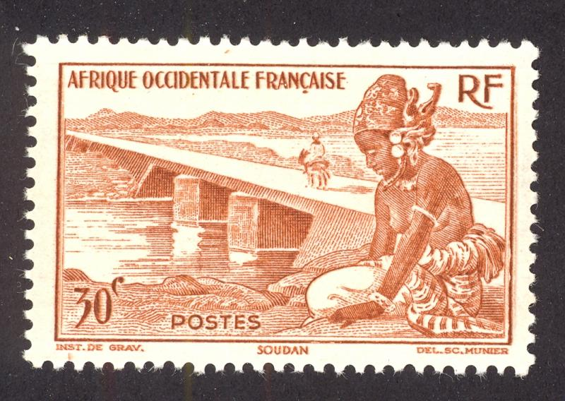 French West Africa 37 MNH