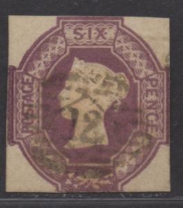 **Great Britian, SC# 7, Used, Fine, Single Stamp - Sound