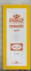 PRINZ BLACK MOUNTS 265X55 (10) RETAIL PRICE $9.50