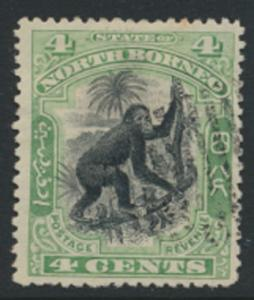 North Borneo  SG 98   Used  perf 14 please see scan & details