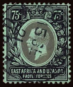East Africa and Uganda Protectorate Scott 48c Gibbons 52c Used Stamp