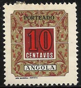 Angola Postage Due 1952 Scott# J-37 Mint Hinged