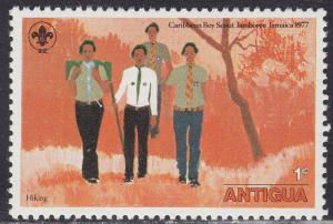 Antigua 466 Scouts Camping 1977