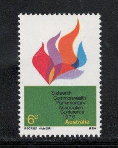Australia 1970 16th Parliamentary Conference Scott # 487 MH