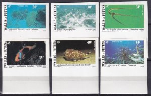 Wallis & Futuna Islands #264-9  MNH Imperf (Z9189)