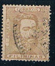 Philippines 47 Used King Amadeo 1872 (P0107)