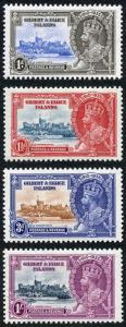 Gilbert and Ellice Islands SG36/39 1935 Silver jubilee Set M/Mint
