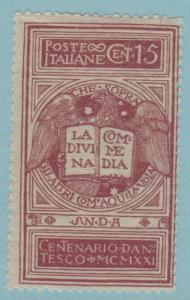ITALY 133 MINT  HINGED OG * NO FAULTS EXTRA FINE !