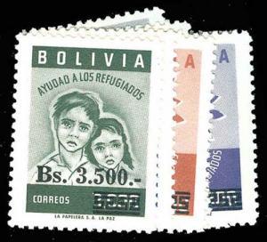 BOLIVIA 454-58  Mint (ID # 77379)