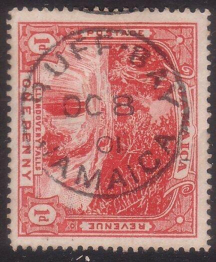 JAMAICA 1901 1d Falls - BUFF BAY cds.......................................67137