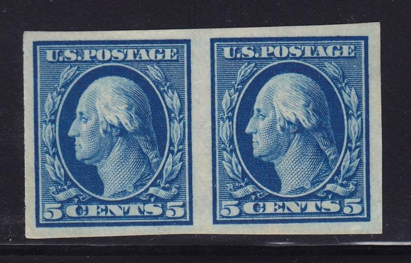 347 Pair VF-XF OG never hinged with nice color cv $ 130 ! see pic !