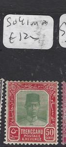 MALAYA TRENGGANU (P0211B)   50C  SG 41  MOG