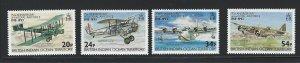 British Indian Ocean Territory mnh sc 136 - 139