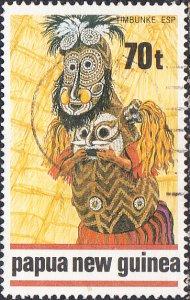 Papua New Guinea  #724  Used