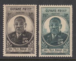 French Guiana 171-2 mint