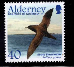 Alderney Bailiwick of Guernsey  Scott 212 MNH** Bird stamp