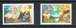 Nauru 441-442 MNH