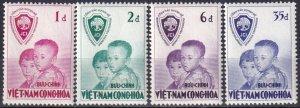 Vietnam #59-62 MNH  CV $11.20  (Z7426)