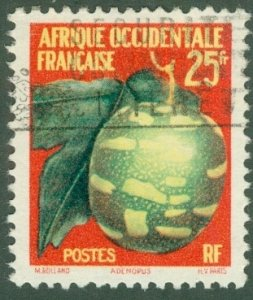 FRENCH WEST AFRICA 80 USED BIN$ 1.00