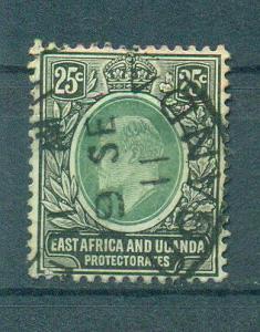 East Africa & Uganda Protectorate sc# 37 (2) used cat value $8.50