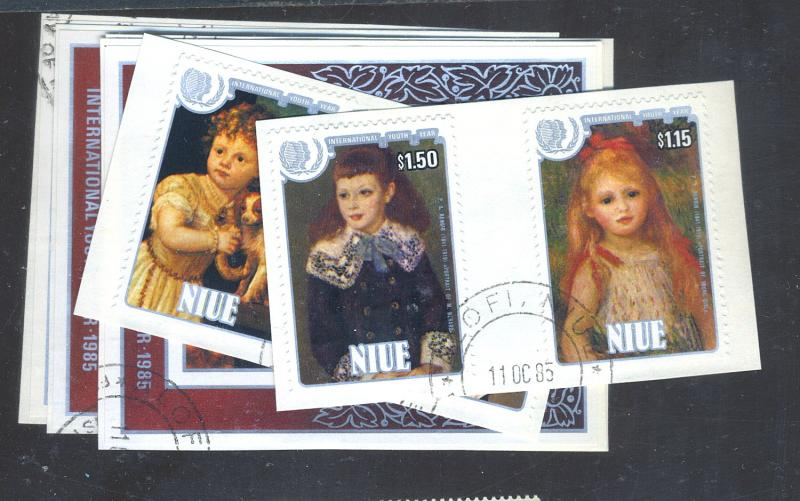 Niue #488-95 Used VF Cat$31.75