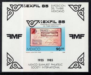 Mexico 1385 Souvenir Sheet MNH VF