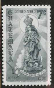 GUATEMALA Scott C404 MNH** 1968 Lady of the Coro 7c stamp
