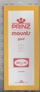 PRINZ BLACK MOUNTS 265X44 (10) RETAIL PRICE $9.50