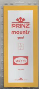 PRINZ CLEAR MOUNTS 265X44 (10) RETAIL PRICE $9.50